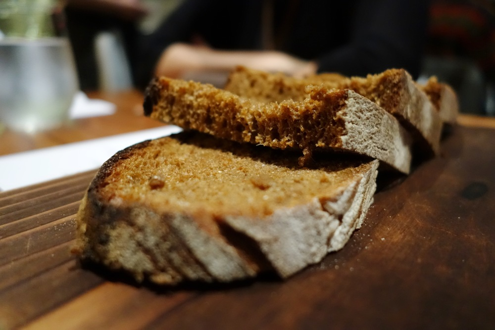 Lazy Bear SF - Bay Laurel Molasses Bread