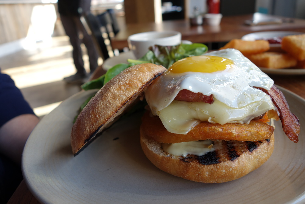 Townie Brunch Burger - Berkeley