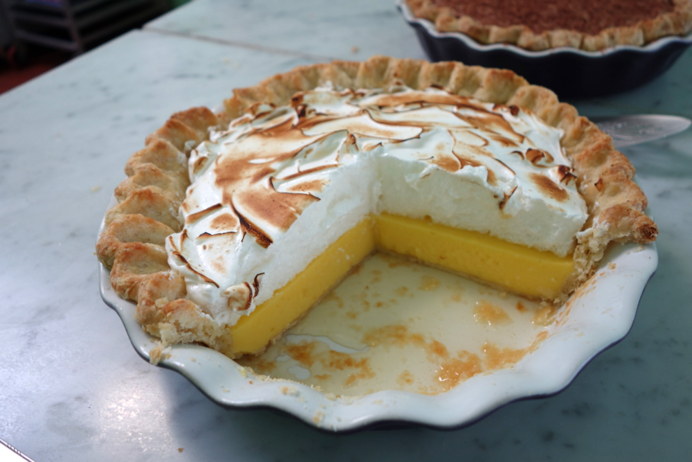 Lemon Pie - A Dora Pie - Berkeley, CA