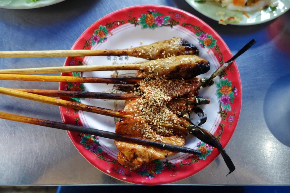Pork Satay - Ba Le Restaurant