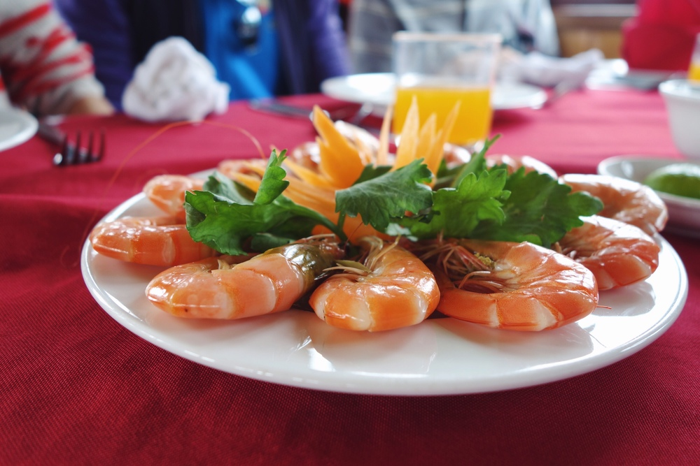 Ha Long Bay - Alova Cruise Food Review