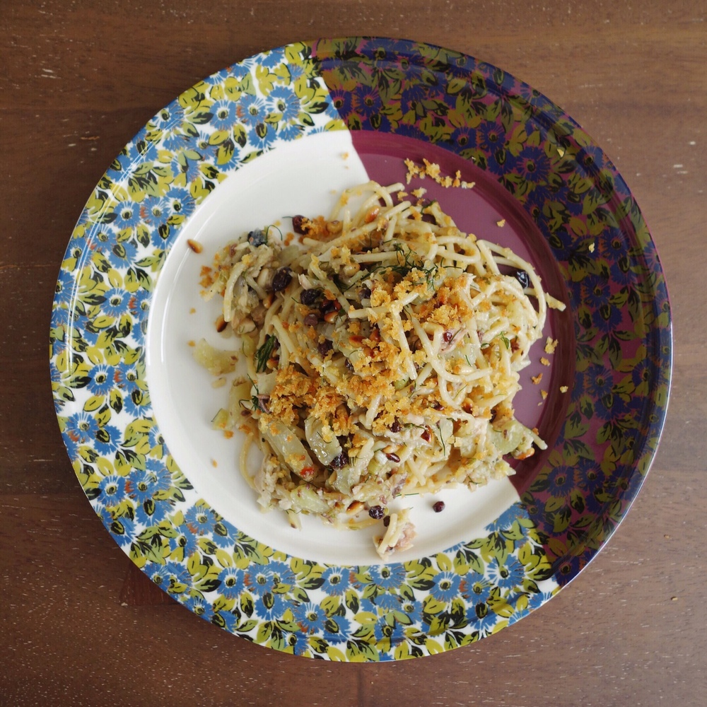 Recipe: Pasta with Sardines & Fennel (Pasta con le Sarde)