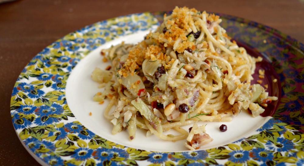 Pasta con la sarde recipe
