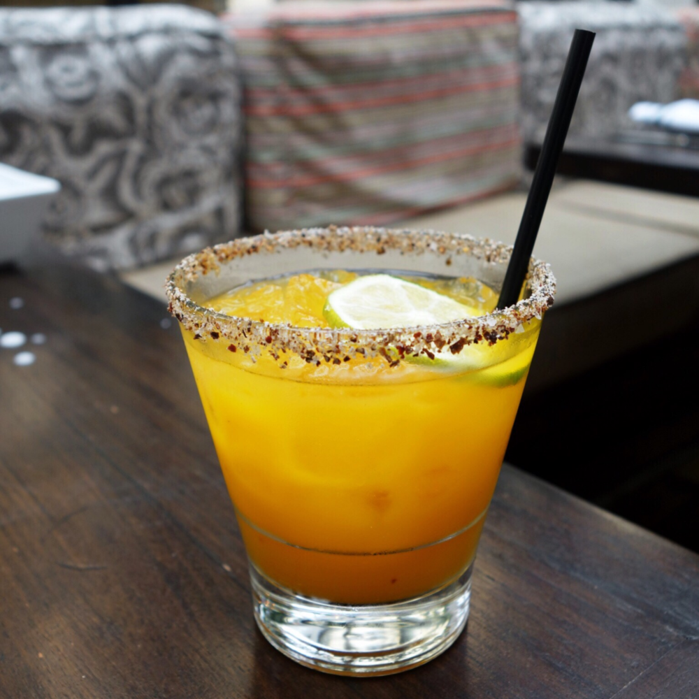 Mango Margarita at Palm House Review San Francisco