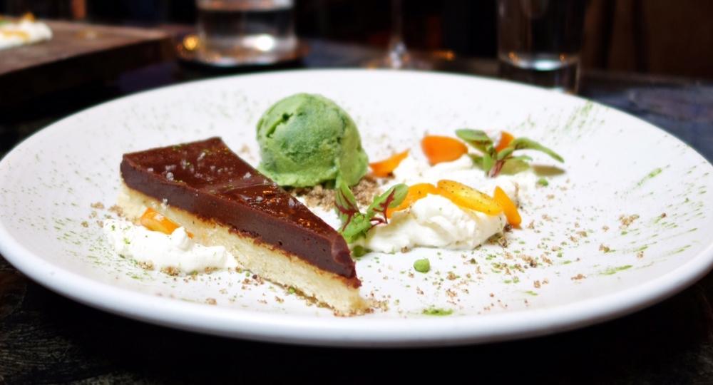 Reverb Kitchen Chocolate Tart Review - San Francisco