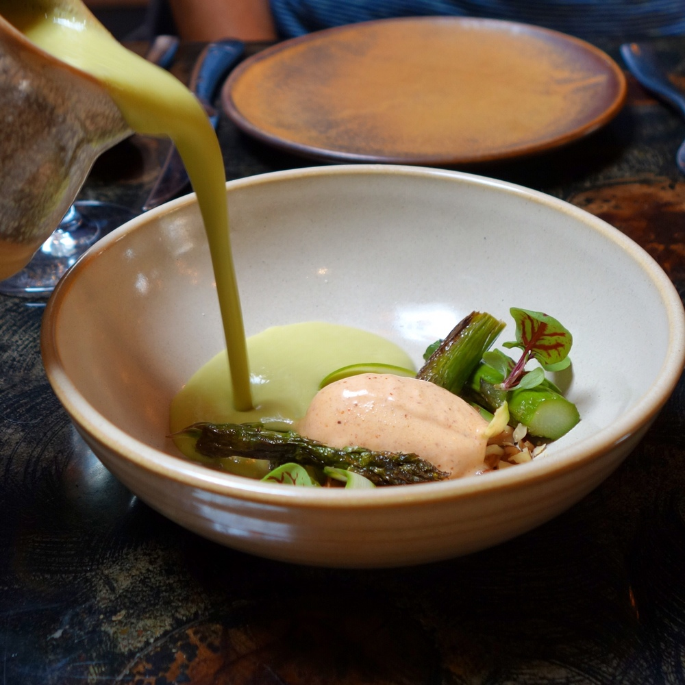 Reverb Kitchen Asparagus Soup Review - San Francisco