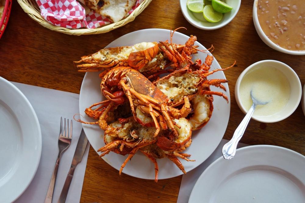 Puerto Nuevo Loster Granas Place Restaurant Review - Bites & Bourbon
