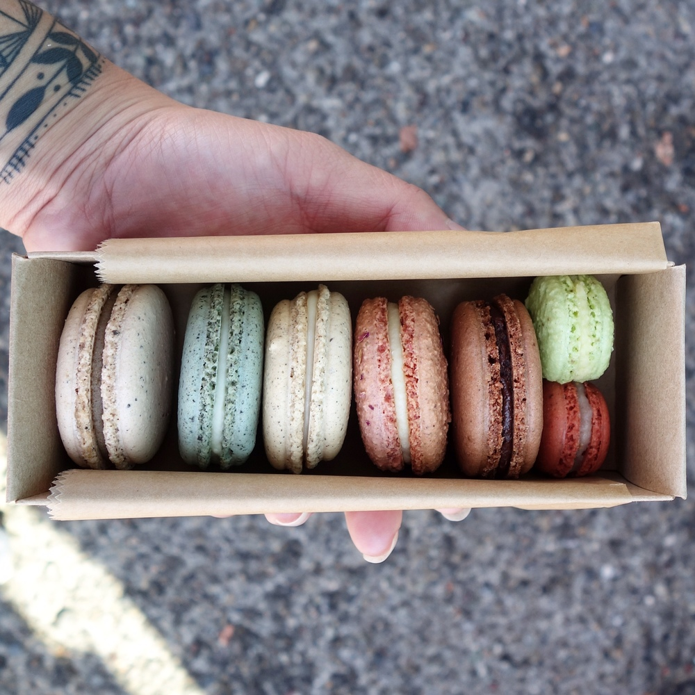Unusual Macarons from Shades of Sugar Bakeshop