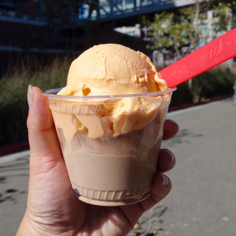 Thai Tea and Coconut Mocha Frozen Custard from Frozen Kuhsterd