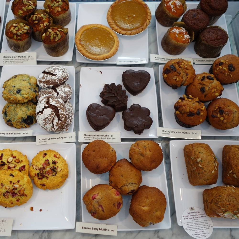 A selection of tasty treats at the Emeryville location.