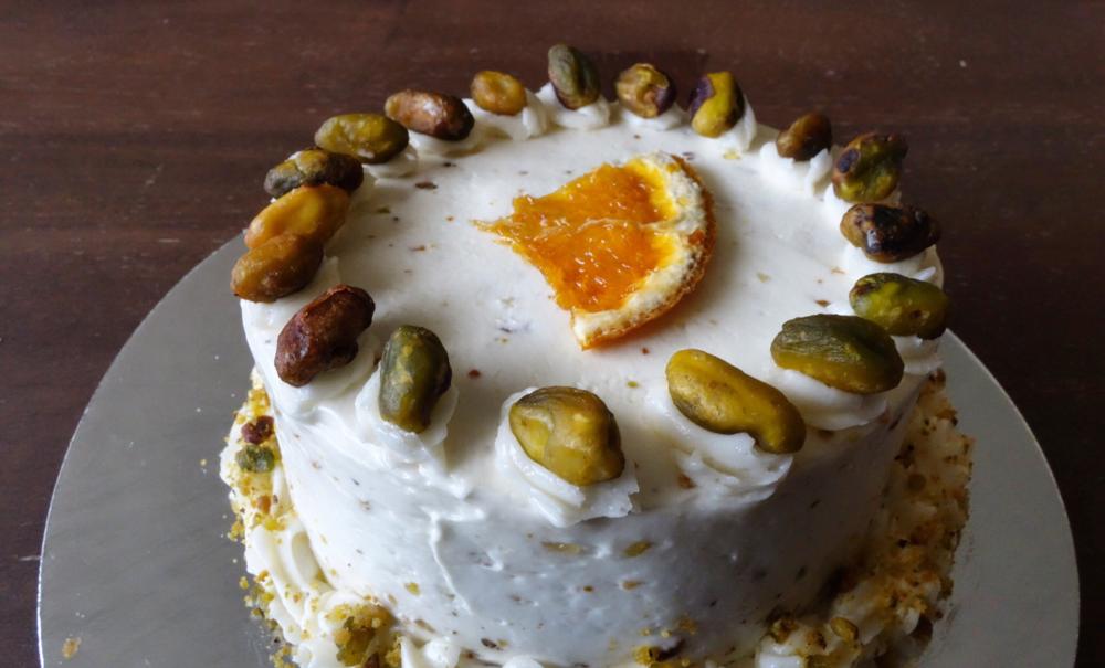 Bacano Bakery - Orange Almond Pistachio Cake