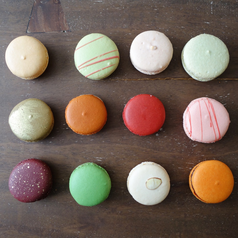 Chantal Guillon Macarons - Fall / Winter 2015