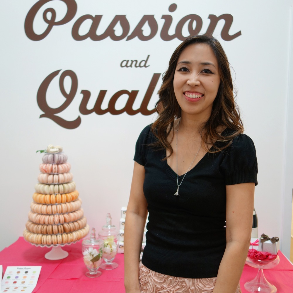 Anita Chu is an expert in all things dessert and her  dessert blog  is one of my favorites.  You should also check out some of her  books on candy, lollipops, and cookies .