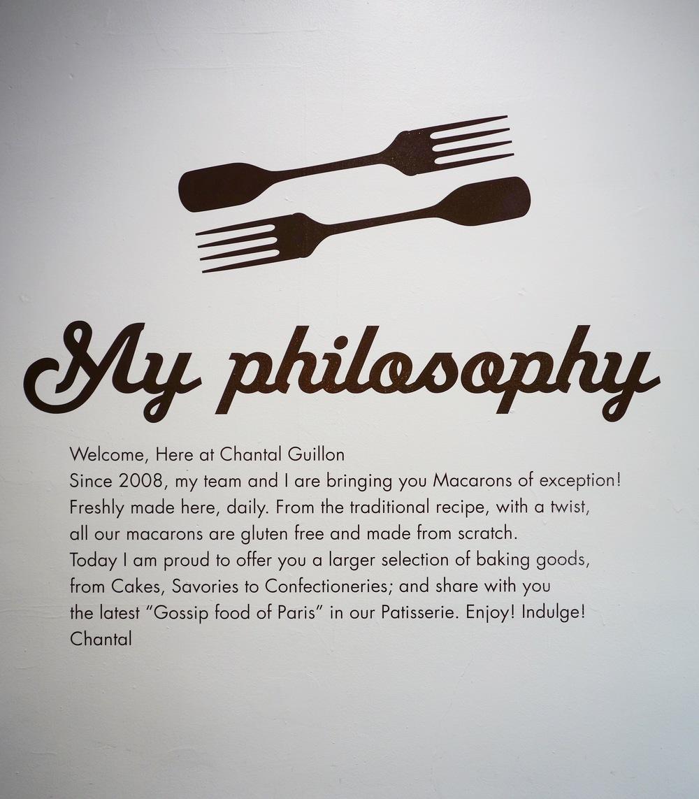 Chantal Guillon Philosophy