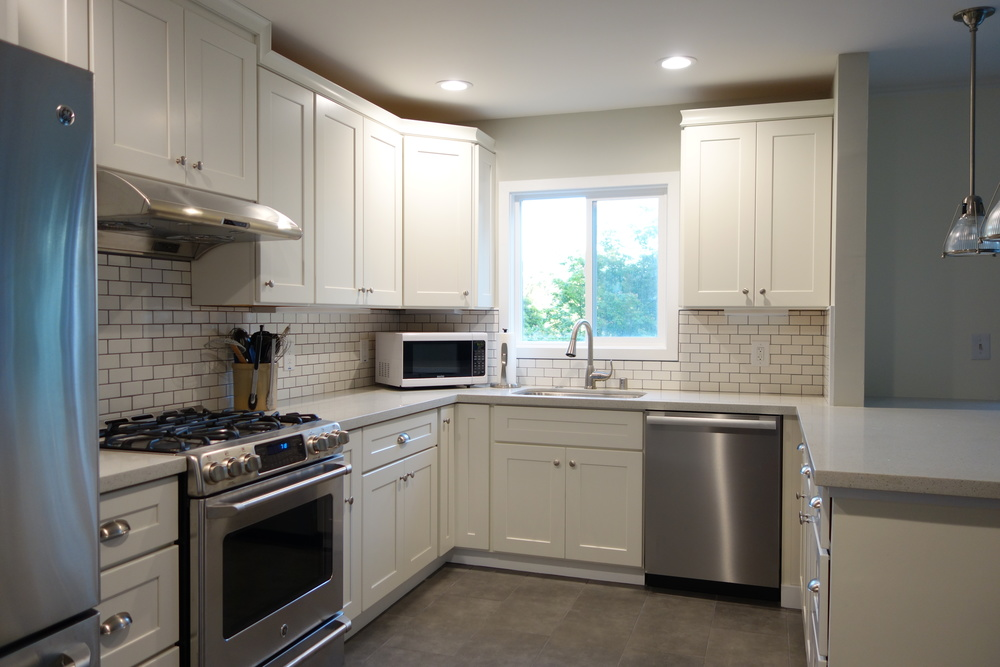Amazing Bitesandbourbon.com: Before/After Kitchen Remodeling   Shaker Style Kitchen  With Subway