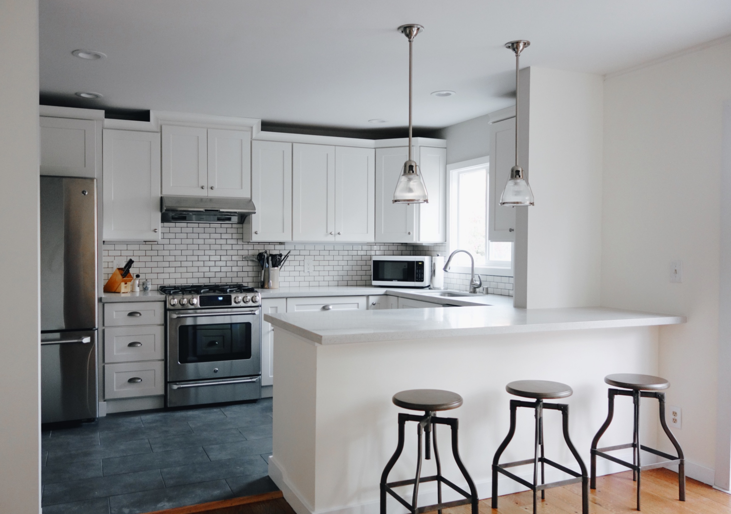 say hello to our new shaker style kitchen photo tour remodeling