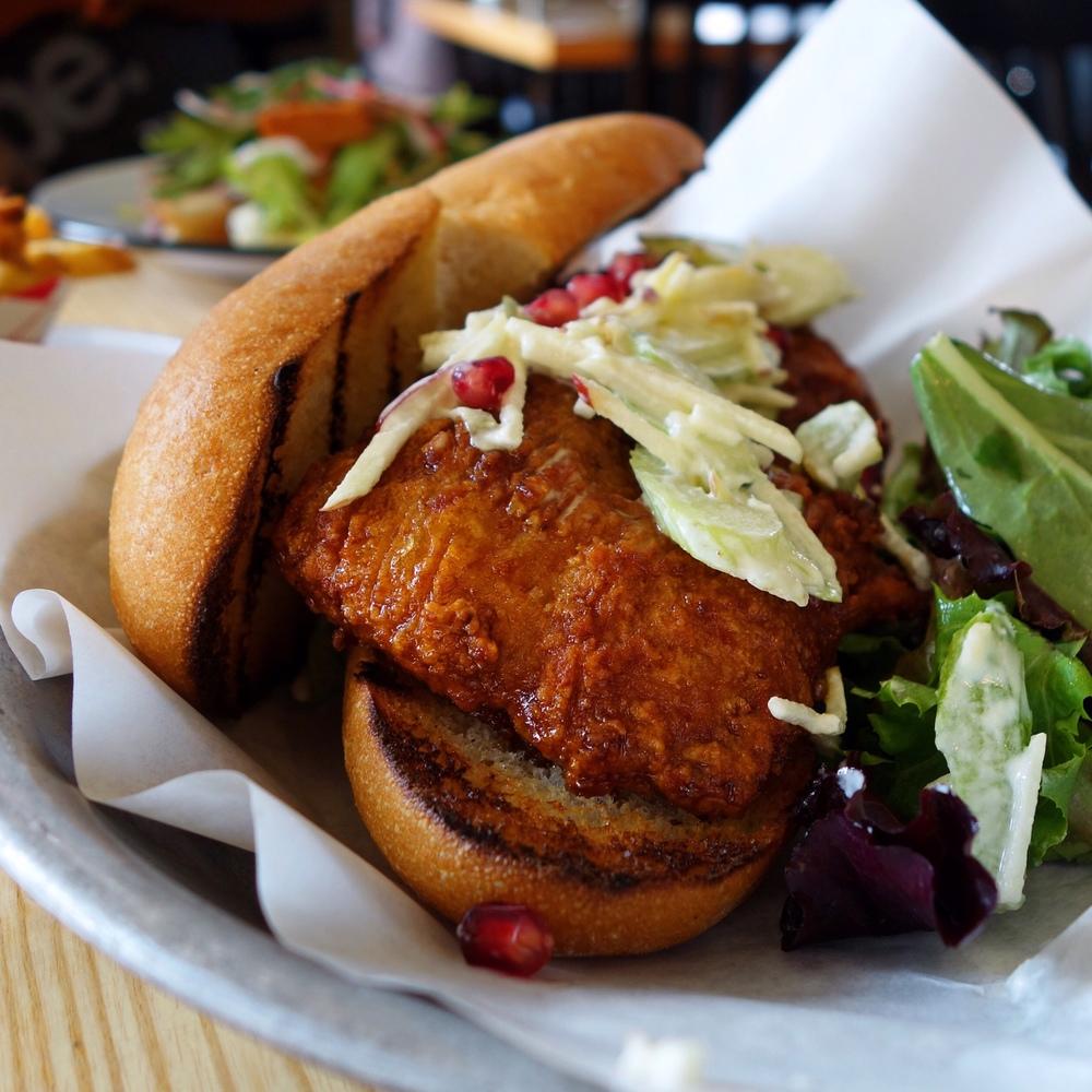 Clove & Hoof Fried Chicken Sandwich Review