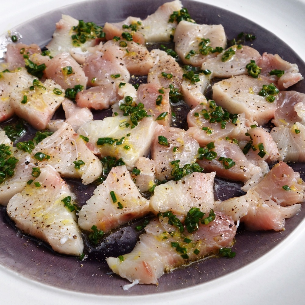 Simple Yellowtail Crudo Recipe