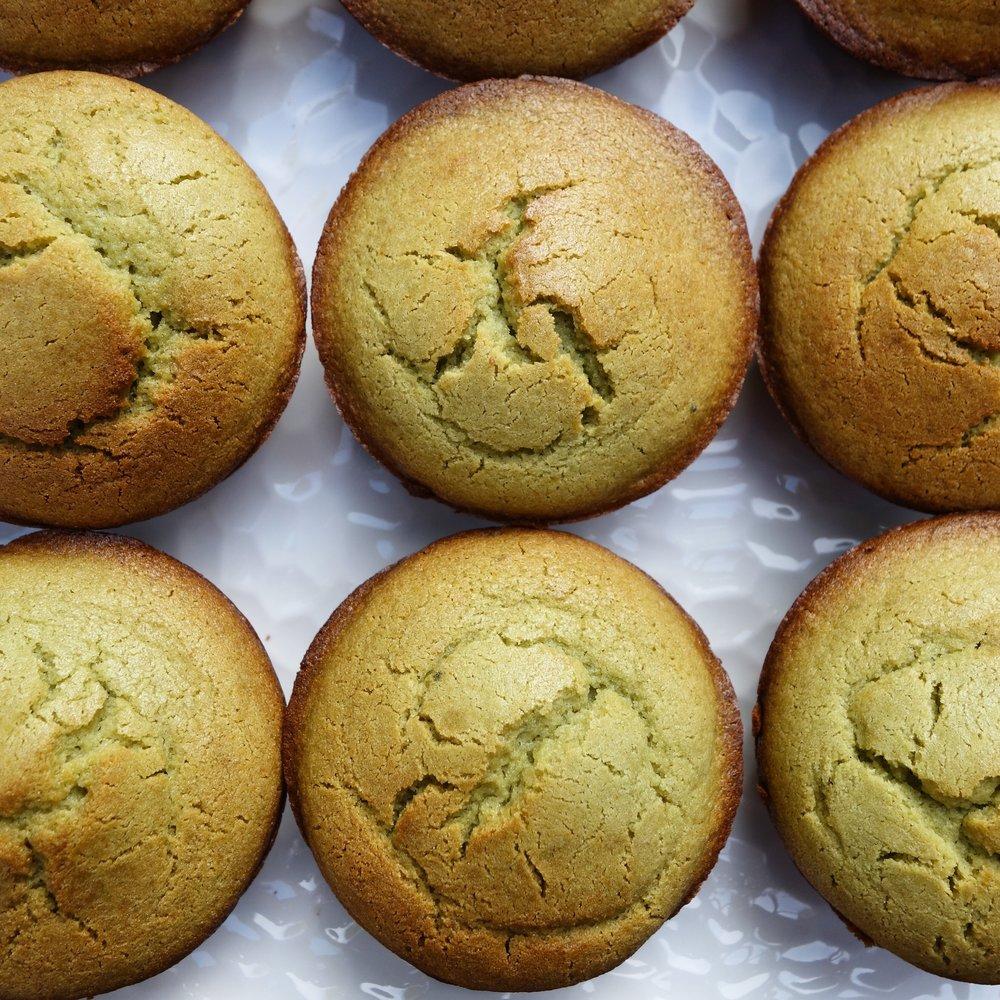 Matcha Mochi Cupcakes Recipe
