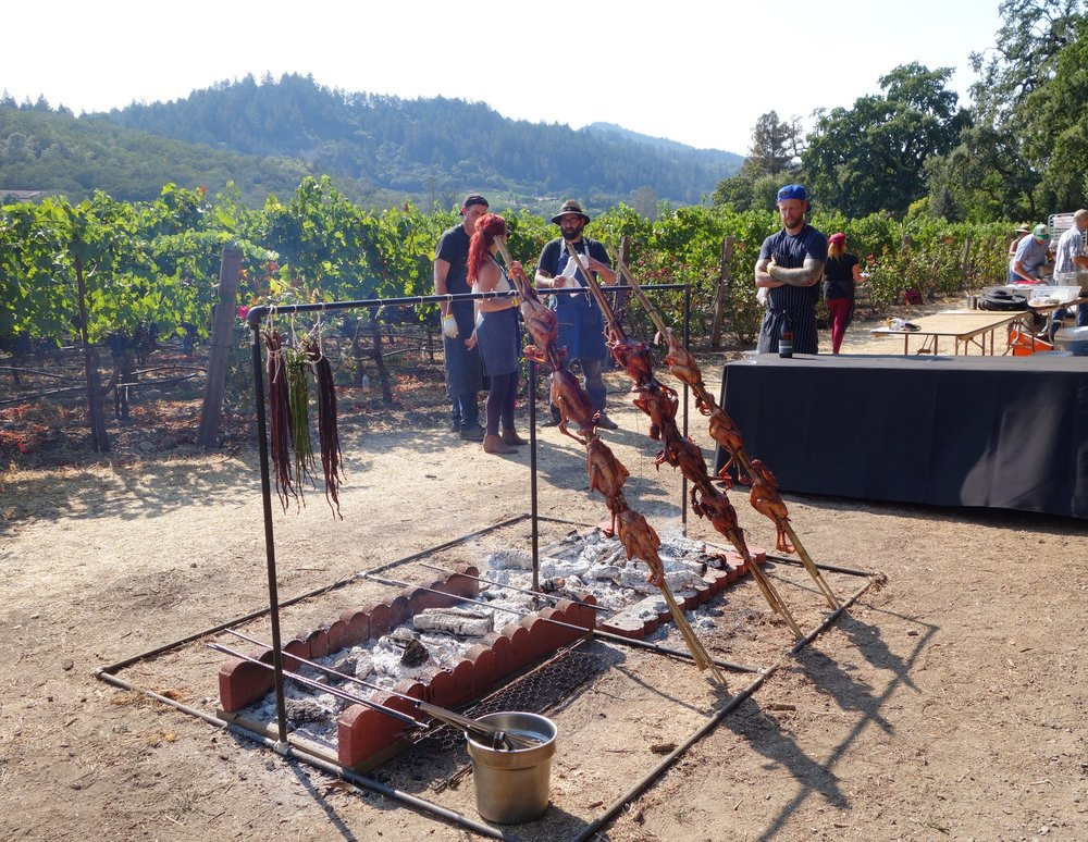 Highlights of Cochon 555's Heritage Fire Napa 2016