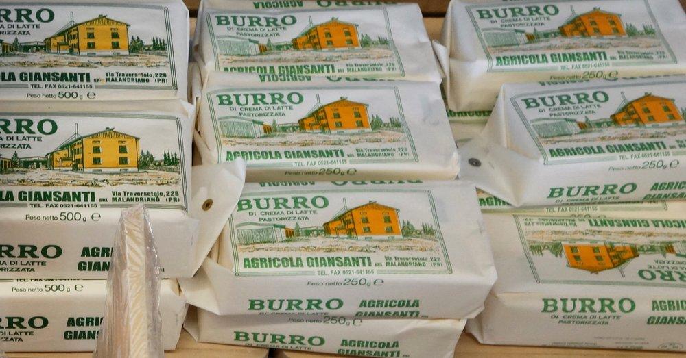 Giansanti Butter Parmigiano Reggiano Tour