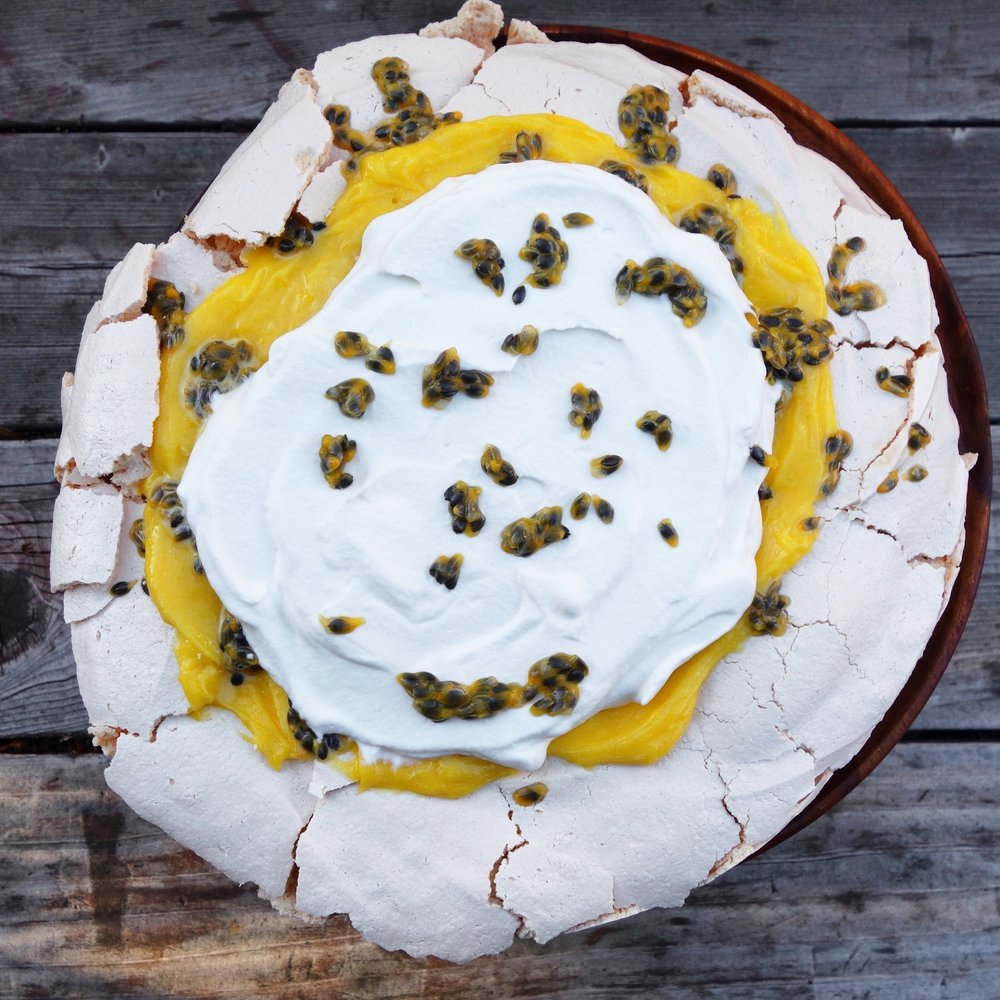 Passion Fruit Pavlova Recipe
