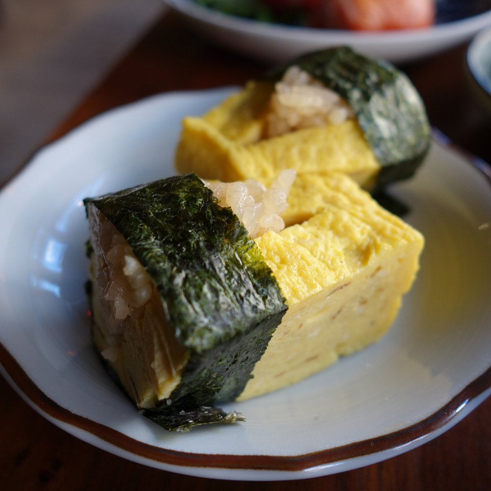 Dashimaki tamago from the Miyabi set.