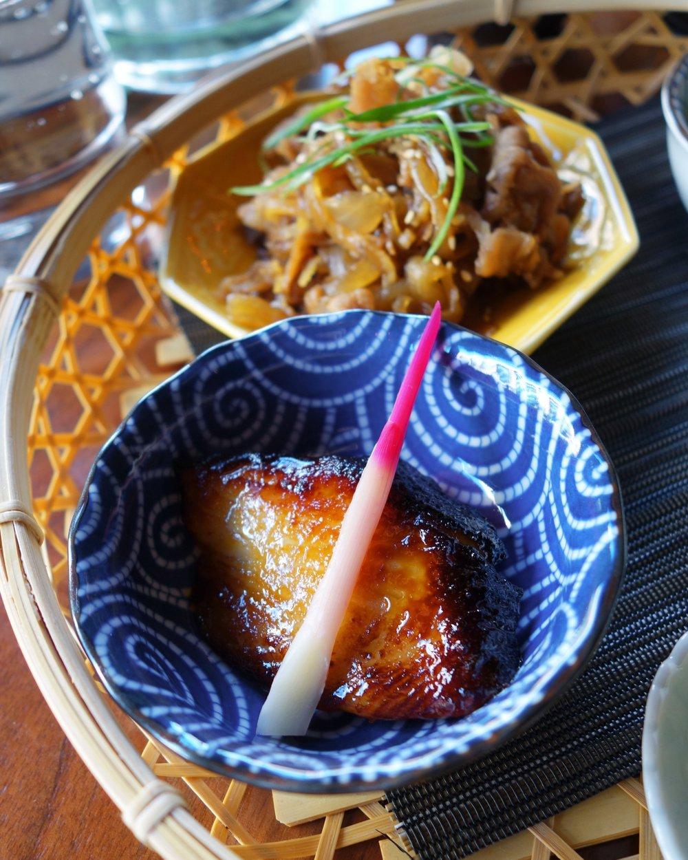 Gindara misozuke from the Megumi set.