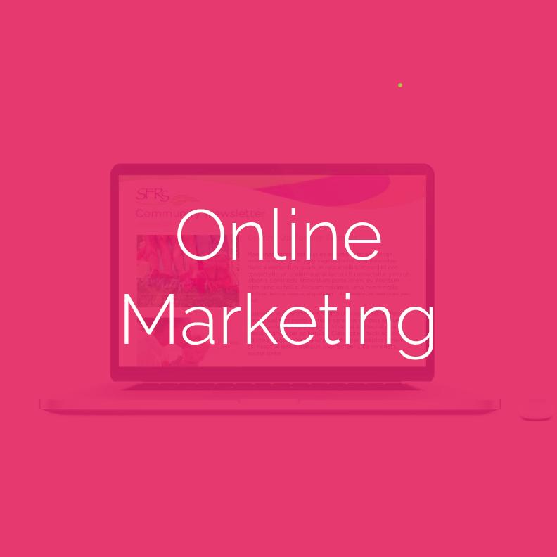 • Web Marketing + Design • SEO • Search Engine (PPC) • Digital Display • Content Marketing