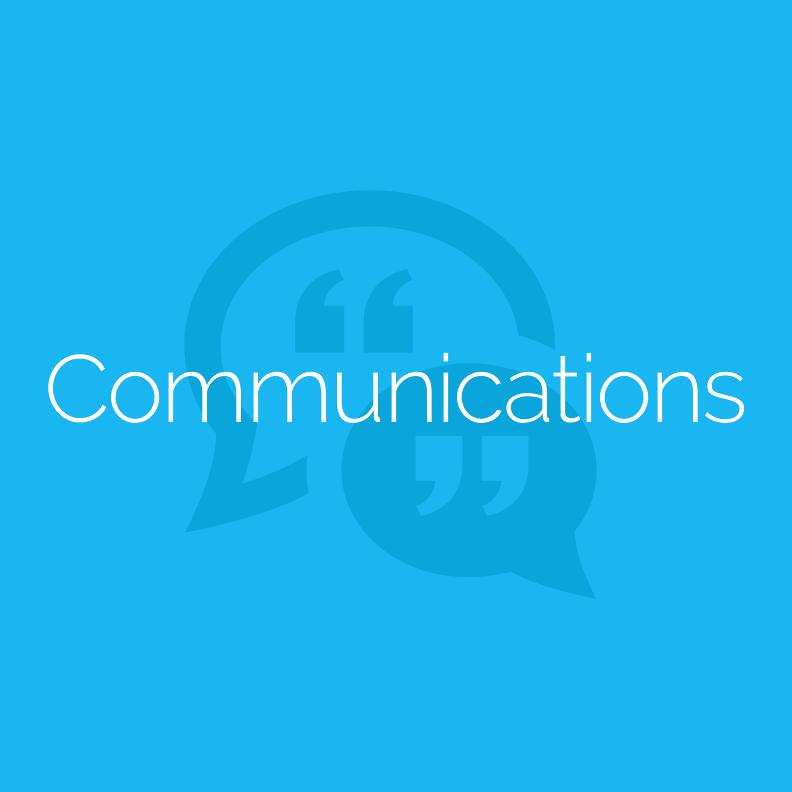 • Communications Planning • Public Relations • Issues Management • Internal Communications