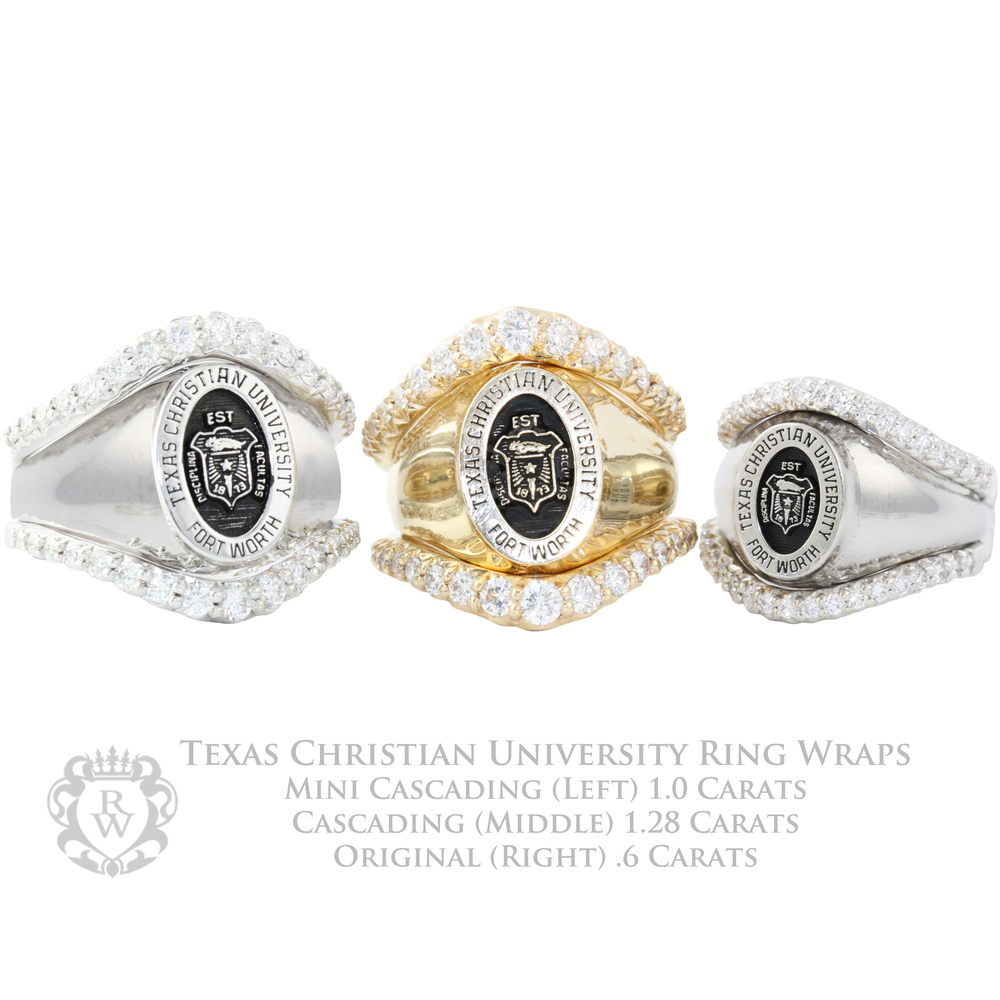 for modified wraps and pin women shield college rings gold s custom shsu
