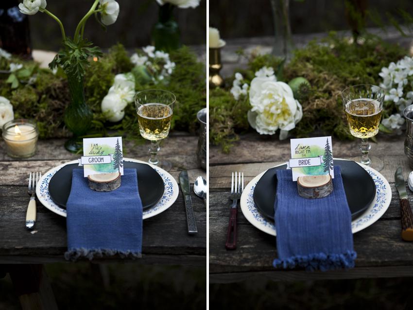 boho kelowna wedding photographer Dandelion willow stationery