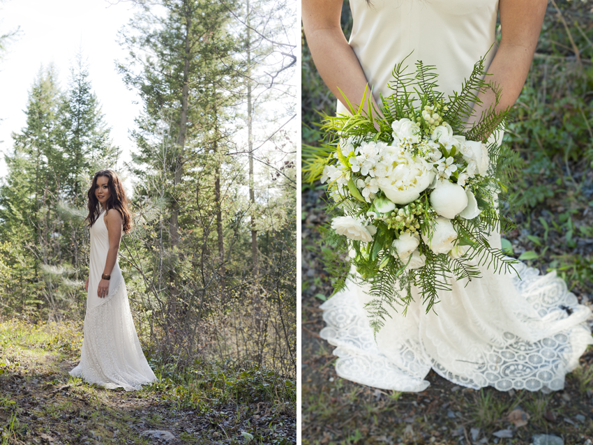 Kelowna outdoor rustic wedding photography