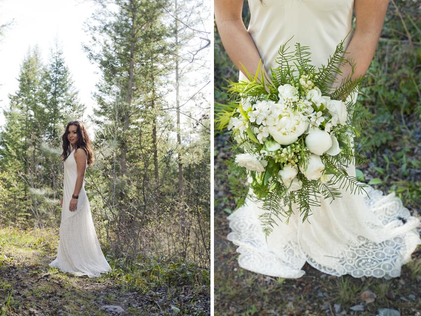 Kelowna outdoor rustic wedding photography