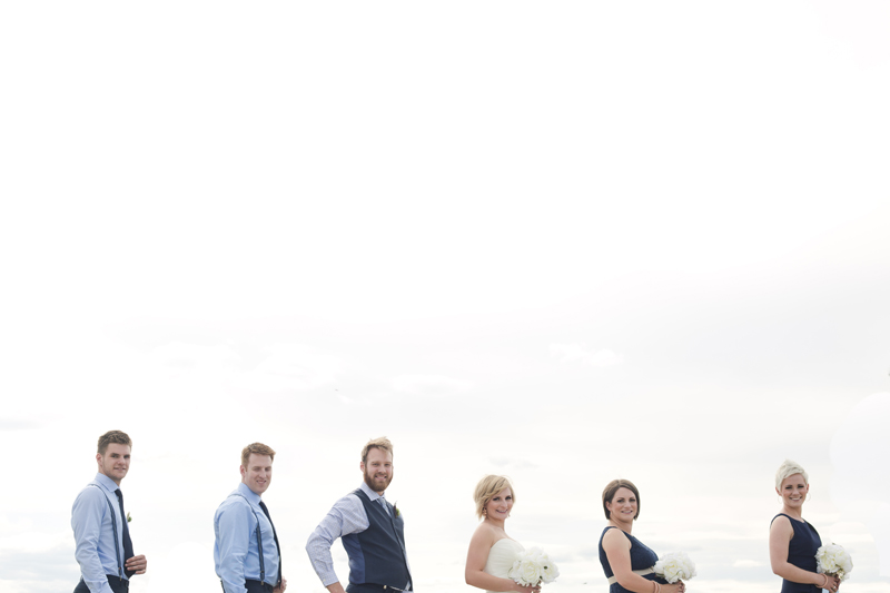 kelowna wedding party photo katie nugent