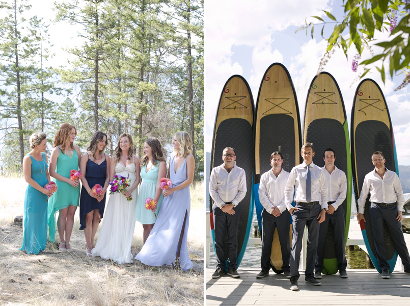 Kelowna beach wedding photographers