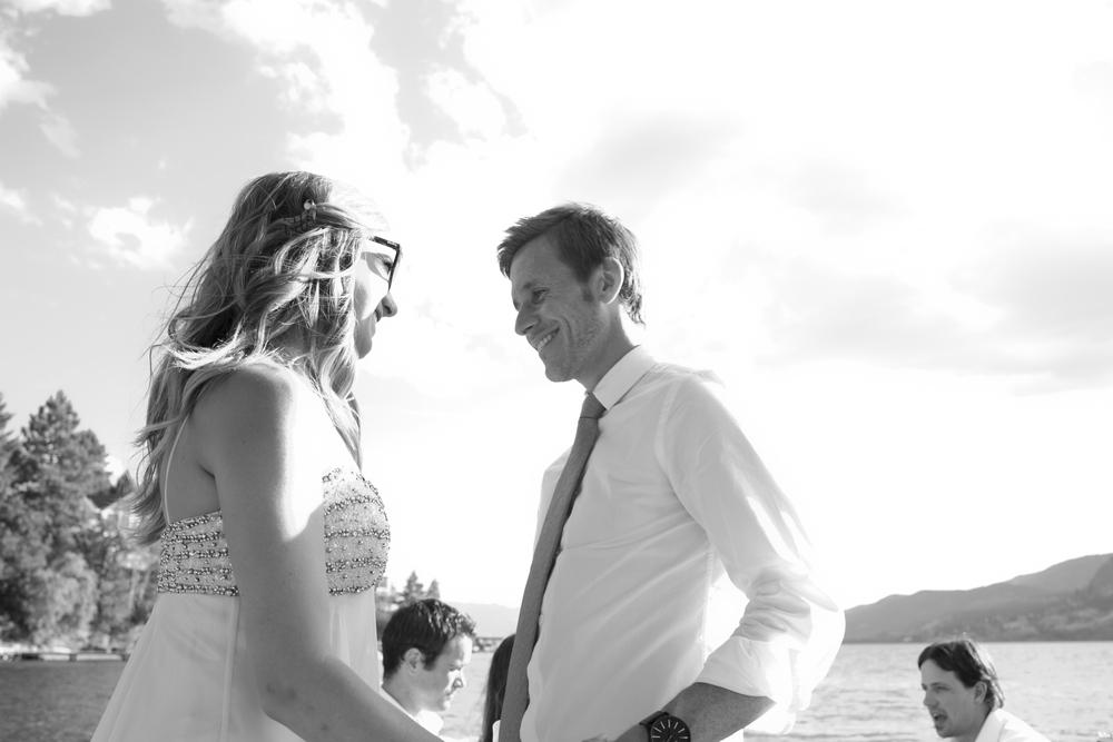 bride&groomokanaganlake