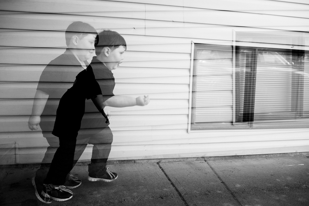 Urijah made a point of telling me how fast he could run, so I took it as a chance to practice some double exposures. I told him he was like lightning- he corrected me and said he was actually a bull (hahahahah, best response ever)
