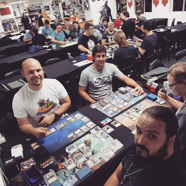 Tuesday night Commander at Luckshack Milnerton #mtg #magic #edh #commander #geeklifestyle