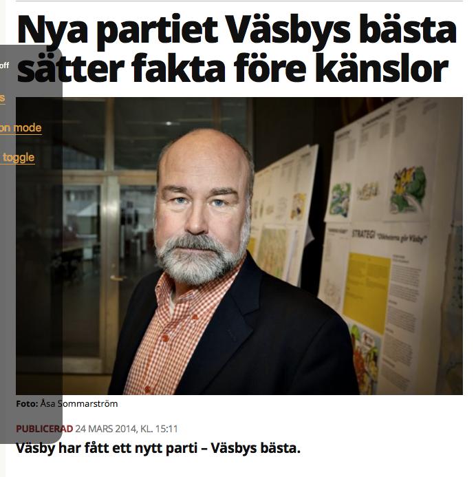 Mitt i Väsby -