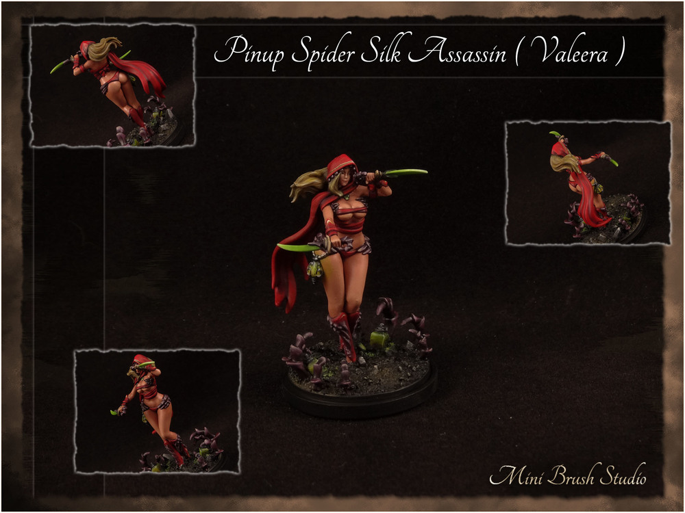 Pinup Spider Silk Assassin ( Valeera Sanguinar ) 1 v7.jpg