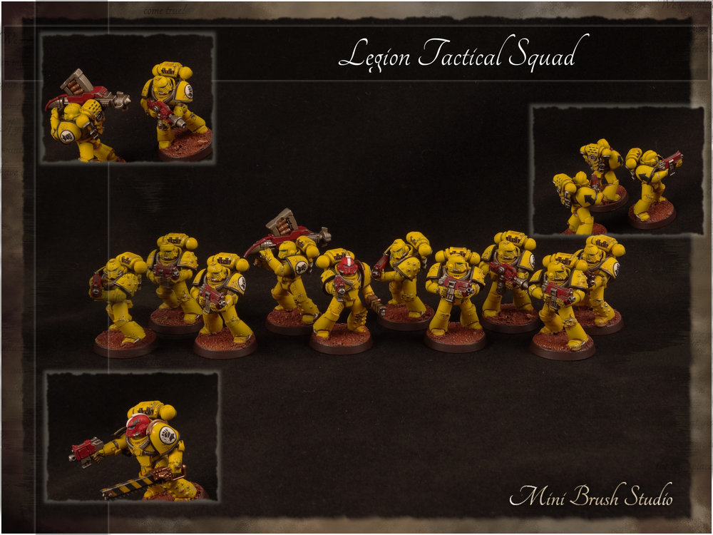 Legion MKIV Tactical Squad 8 ( Imperial Fists ).jpg