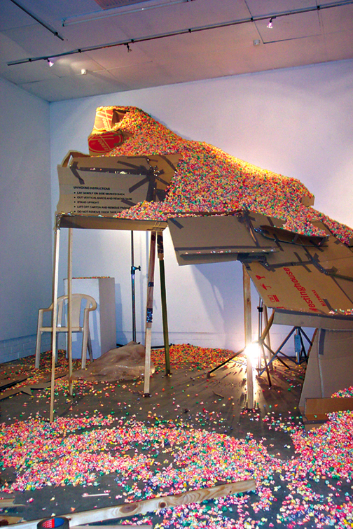 Volitile Commodities / Urban Anxieties / Breadbox Gallery