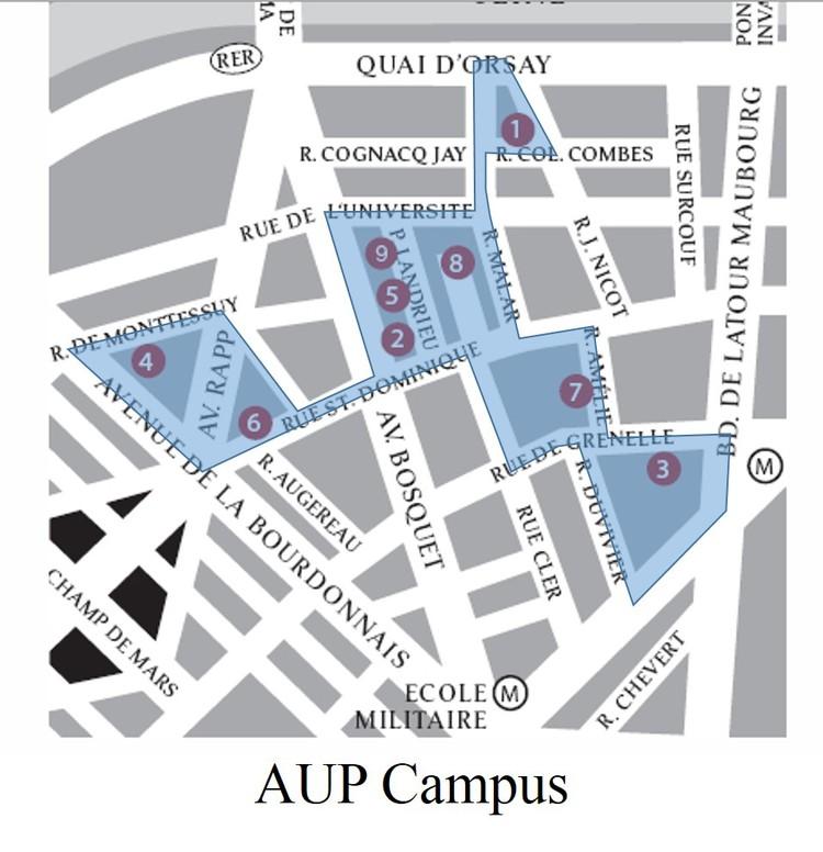Aup S Campus Comforts Of Paris