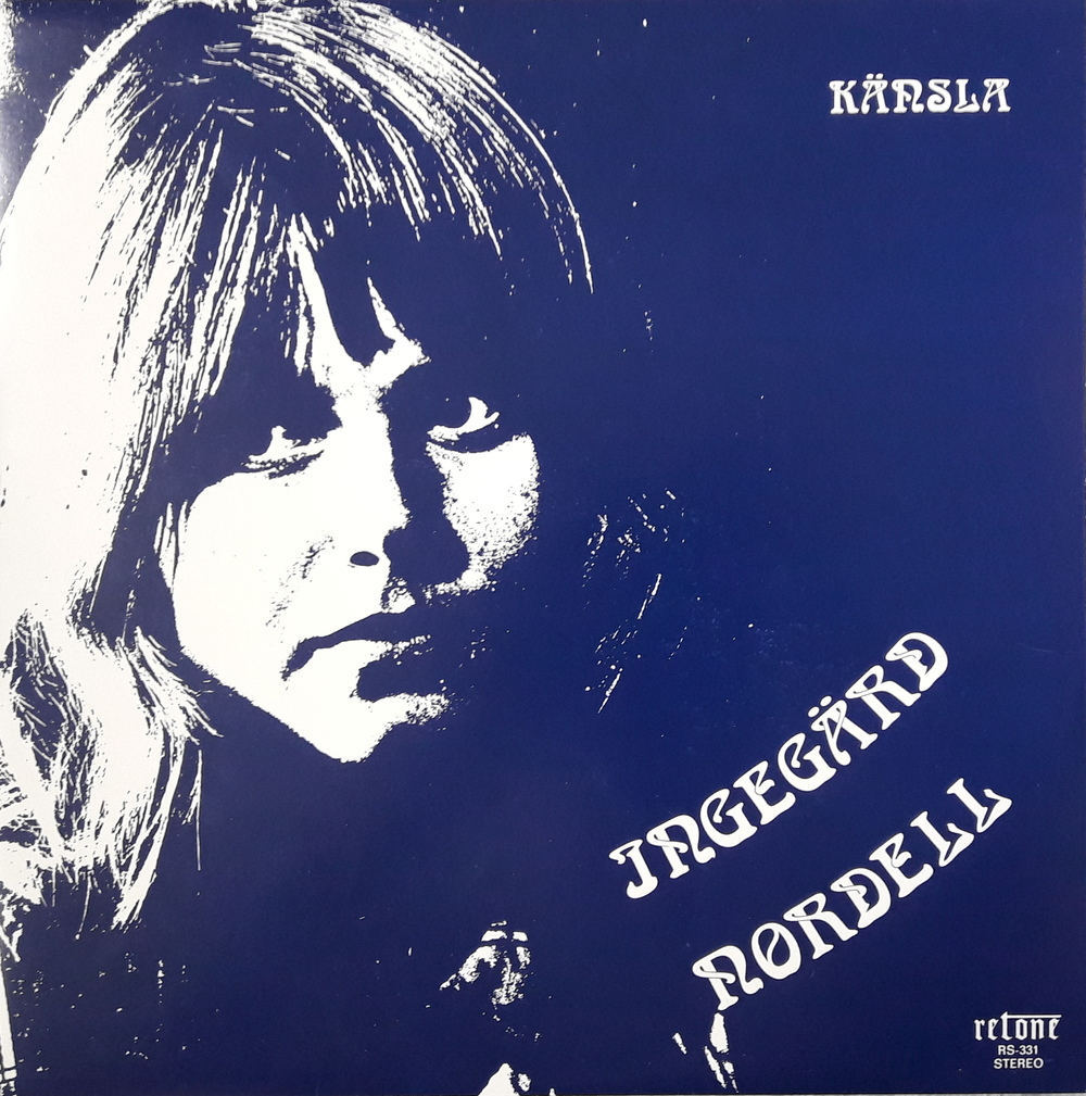 "The cover of ""Känsla"" (which means feeling in Swedish). She used a different spelling of her name (replaced an e with ä) for the release of the album. Ingegered said that she sometimes used that speeling as a ""stage name"". Photo of Ingegered taken by Per Högberg."
