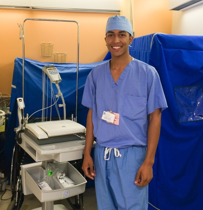 Participating in SHIP     has allowed me to explore the hospital atmosphere and get a closer look at what really goes on. The early exposure to things that I will encounter is extremely beneficial because it gives me a sense of what to expect. Brandon Reyes, 2014 SHIP Cohort     Career Goal: Anesthesiologist