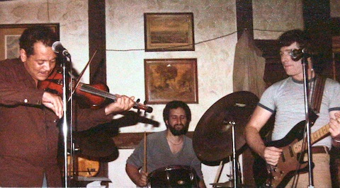 "Don, Paul, Randy at the ""Raven and the Rose"" circa 1980"