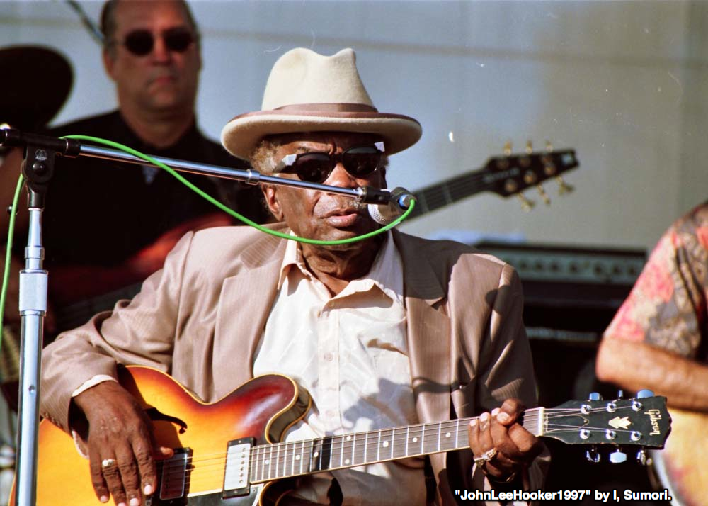 """John Lee Hooker 1997"" by I, Sumori"