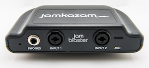 Jamkazam's JamBlaster hardware connects to the network directly