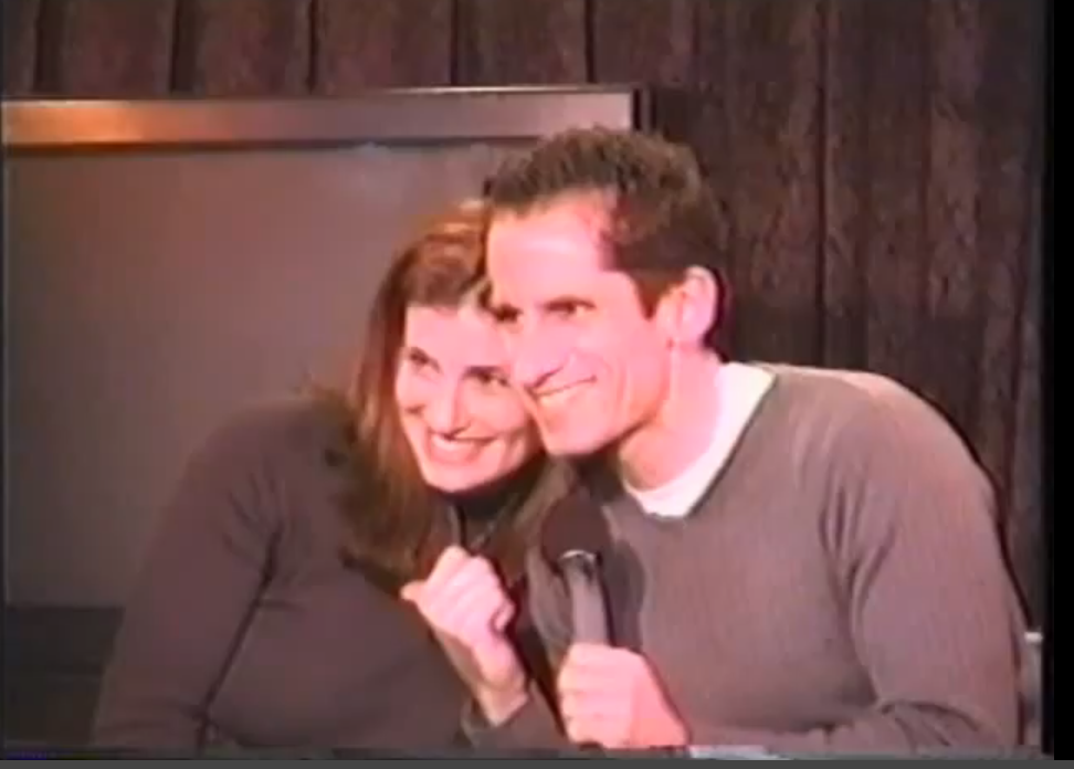 Seth Rudetsky and Adele Dazeem. Seth interviews Broadway stars each Thursday at Don't Tell Mama's in NYC.